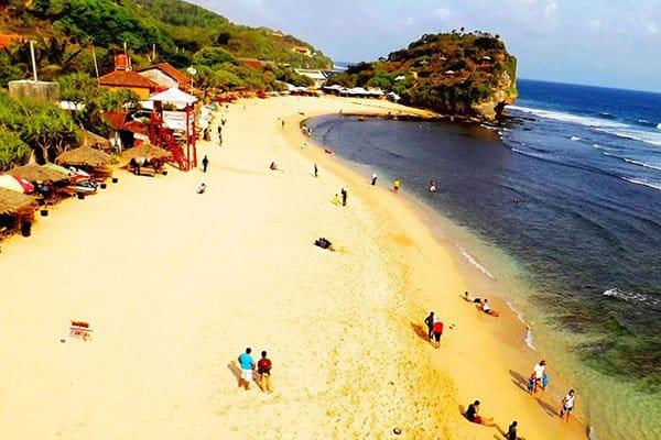Rental Mobil Jogja Murah - Harga Sewa Mobil Jogja 2018 wisata-pantai-gunungkidul-pantai-indrayanti 7 Tempat Wisata Pantai di Gunung Kidul Terpopuler