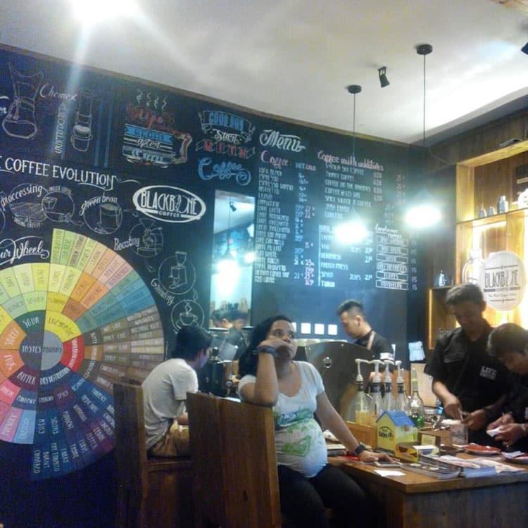 Rental Mobil Jogja Murah - Harga Sewa Mobil Jogja 2018 blackbone-coffee-jakal Nongkrong Asik Sambil Ngopi di Blackbone Coffee