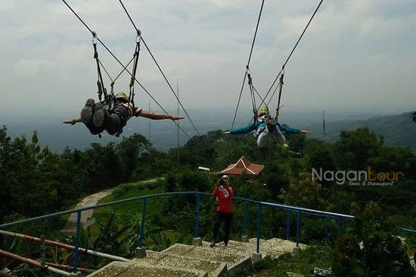 Flying Fox Green Village Gedangsari