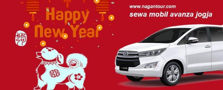 Rental Mobil Tahun Baru Imlek 2018 di Jogja