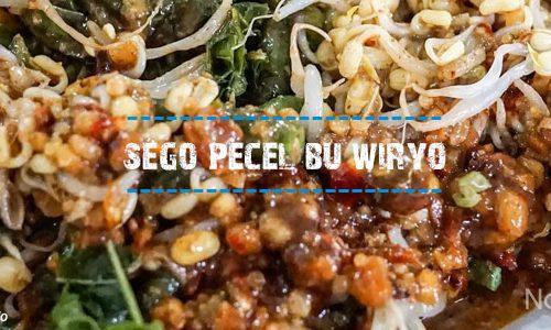 Sego Pecel Bu Wiryo - Photo By @sasmitaedo