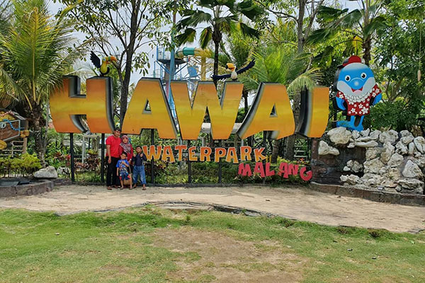 Lokasi Hawai Waterpark