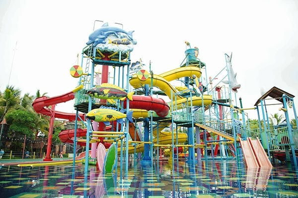 Rute Hawai Waterpark