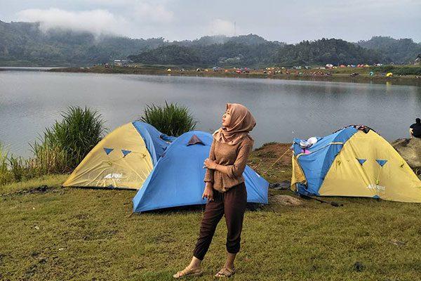 Camping Waduk Sermo Kulon Progo