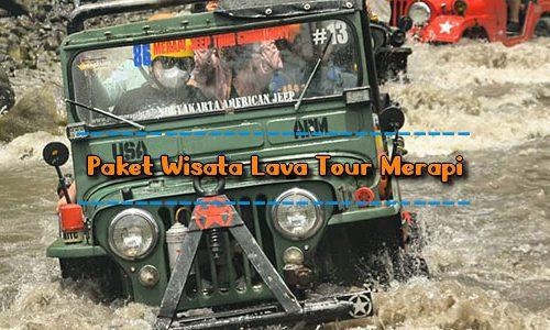 Paket Wisata Lava Tour Merapi Jogja