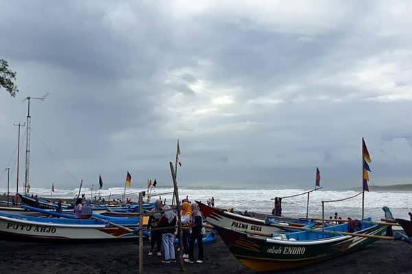 Lokasi Pantai Samas