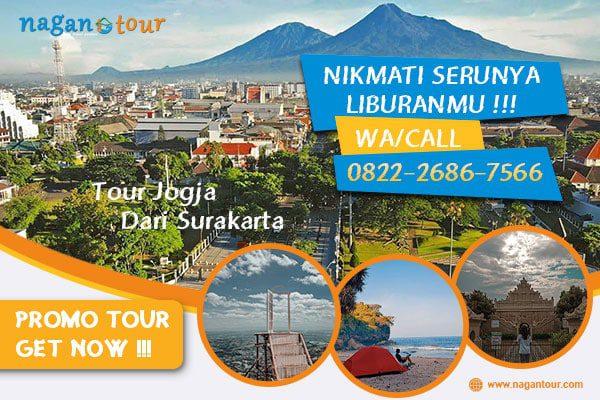 Paket Tour Jogja Dari Surakarta